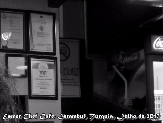 Cafe Esmer Chef: Esmer Chef Cafe, Istambul