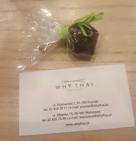 Why Thai food&wine: Why Thai