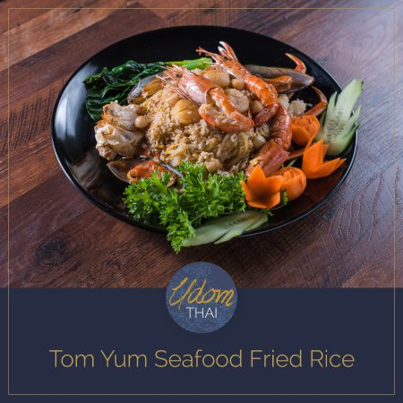 Centennial, CO: Tom Yum Seafood Fried Rice