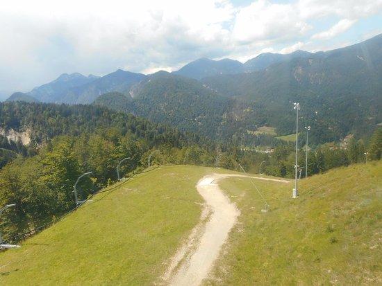Telecabina Monte Lussari/Italia