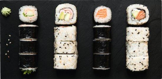 KOKORO Sushi (Vallila): KING OF ROLLS 16 pcs/ 13.99 €