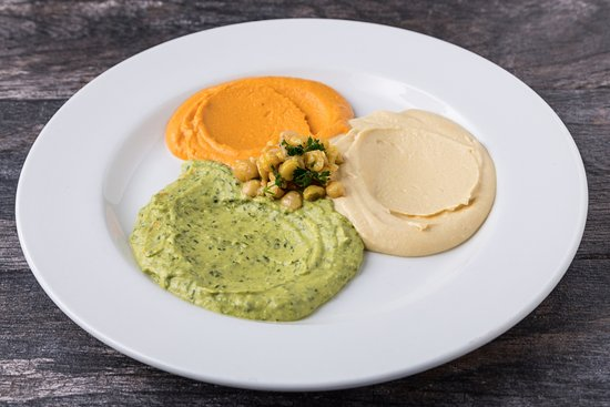 Pita Jungle: Hummus Trio