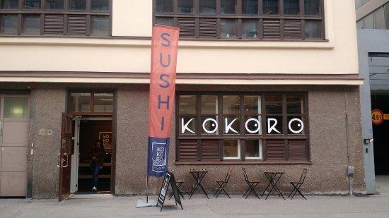 KOKORO Sushi (Vallila): Outside