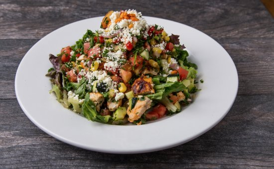 Pita Jungle: Mediterranean Chicken Salad
