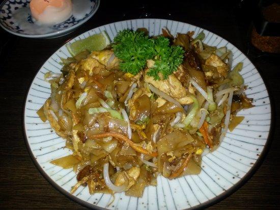 Dalkey, Ιρλανδία: chicken pad thai