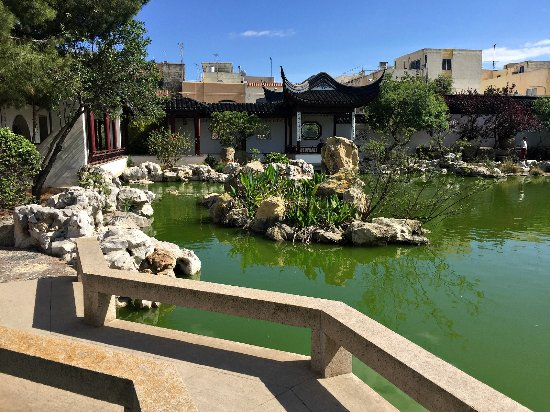 Chinese Garden of Serenity in Santa Lucija
