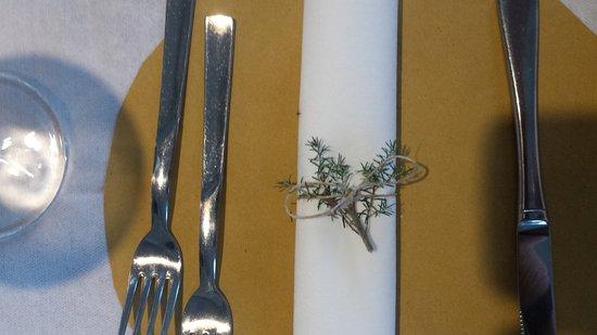 Hotel Villa Janto: dinner set