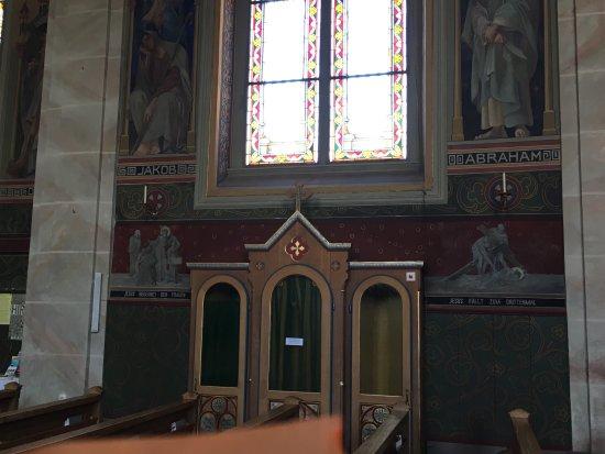 De katholieke kerk in Riezlern, Oosterijk