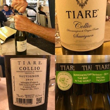 Casier, Italy: Vino abbinato: perfetto!!!