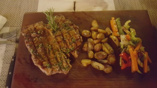 500 Gramos Grill: T-Bone-Steak