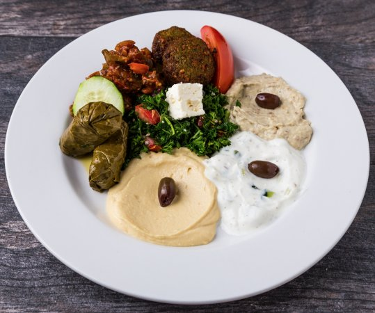 Pita Jungle: Mediterranean Antipasto Platter