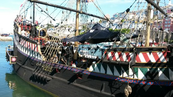 Golden Hind Museum Ship Photo