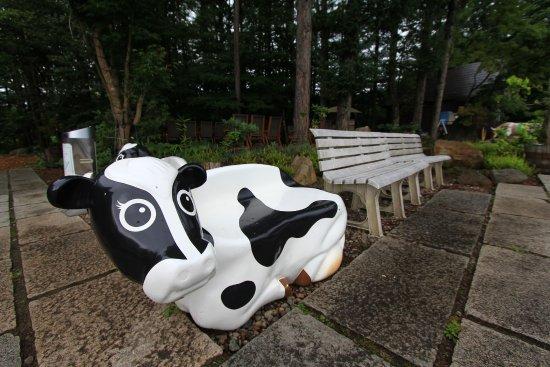 Matsubokkuri: お店の周りのイス