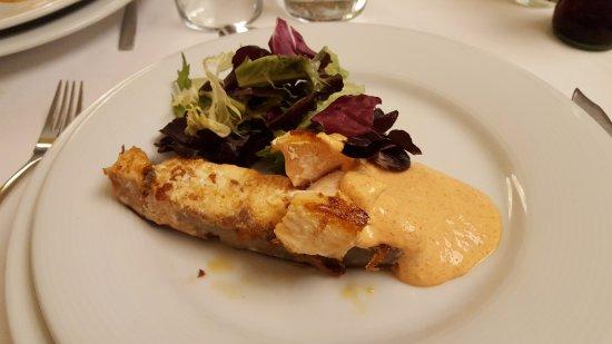Gran Hotel Alange: Menú cena delicioso.