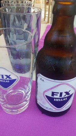 Nostos: Cerveza griega Fix