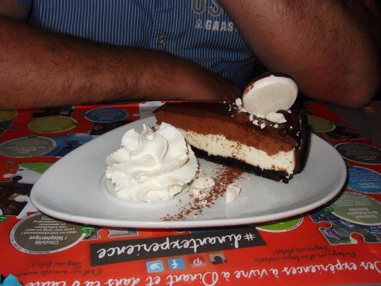 Anhée, Bélgica: Cheesecake à l'oréo