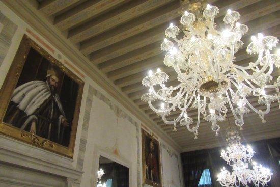 Grand Hotel Dei Dogi: Fabulous lobby decor
