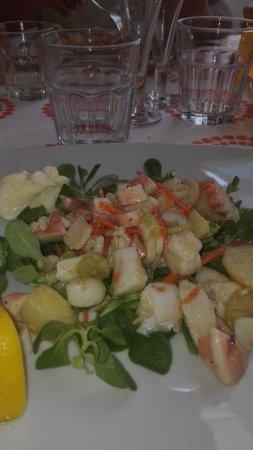Questi sono i piatti gustosi che abbiamo mangiato all'hotel Villa tempo d'estate gustosissimi