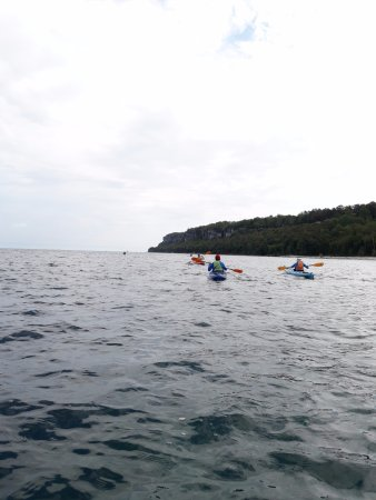 Lion's Head, Канада: Zane took this picture (Beneath the Lion half day paddle)