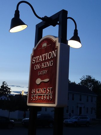 Station on King: A beautiful dinner