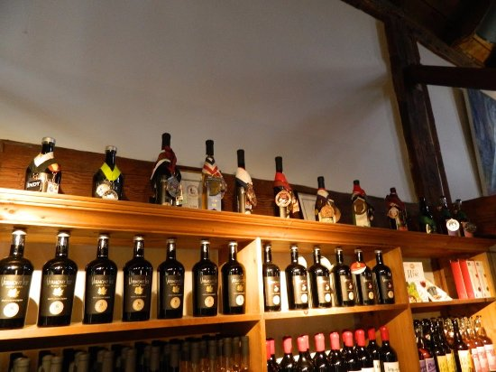 Boyden Valley Winery & Spirits: Awards given on the top shelf
