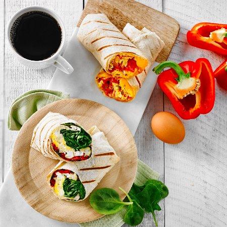 La Prep: Delicious breakfast wraps!
