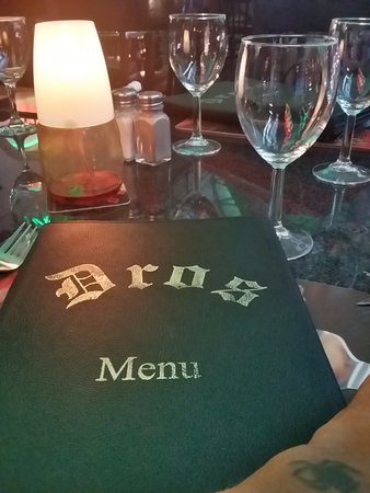 Dros Restaurant and Wine Cellar: ...the menu on another day