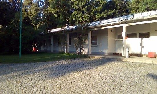 Hostel Hutteldorf: 広大な敷地。