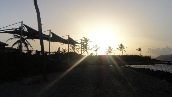 New Castle, Nevis: Nisbet Plantation Beach Club