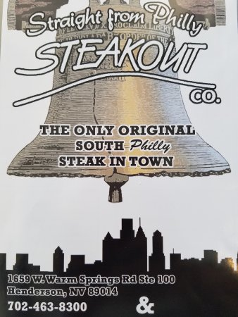 Straight From Hilly Steakout