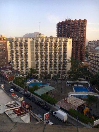 Riudor Hotel Benidorm: Views from room 707, The Club Room,
