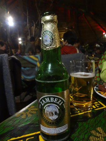 The Boma - Dinner & Drum Show: Local Corn Beer 3% alcohol
