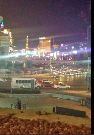 Tropicana Las Vegas - A DoubleTree by Hilton Hotel: View from Tropicana Overhead