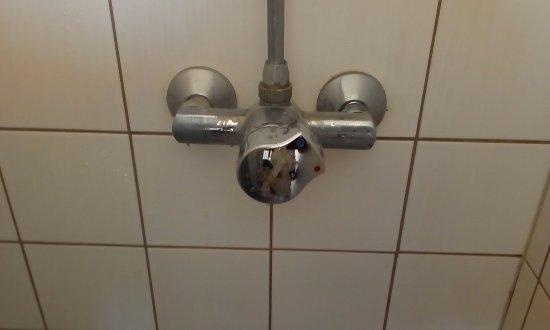 Hostel Hütteldorf: 最初は使い方が分からなかったシャワーノズル;笑