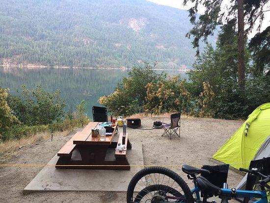 Syringa Provincial Park: site 32