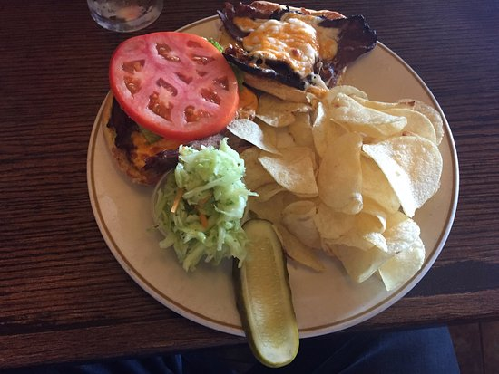 The Red George Pub: assiette de rosbif