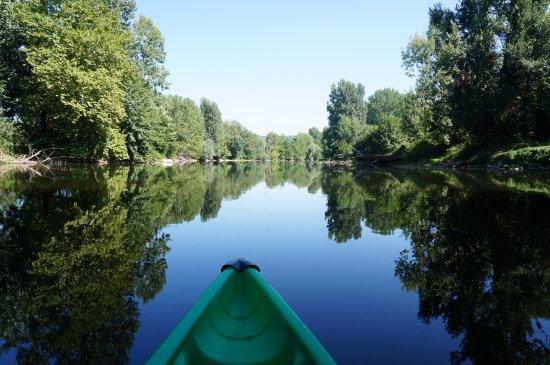 Nature-Escapade: Vue du canoë