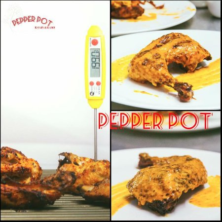 Pepperpot Restaurant: Try Our Tiger Chicken!!! Its Special and Its Spicy!!!!