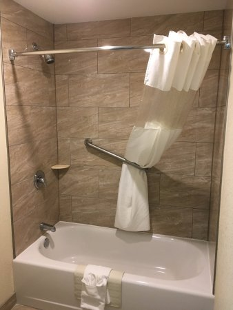 Big shower, new attractive tile, good shower head. - Picture of Best ...