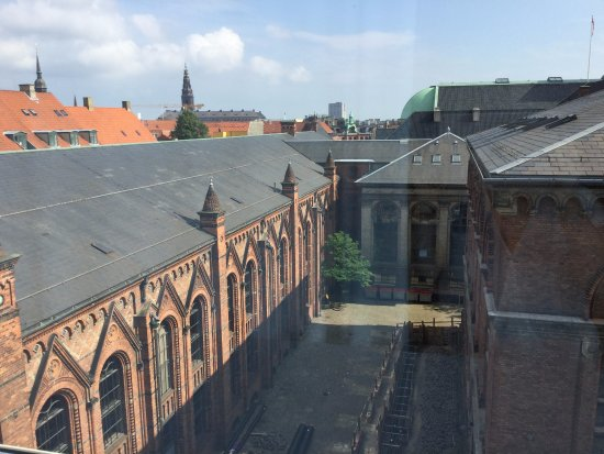 Skt Petri: one of the views from our room
