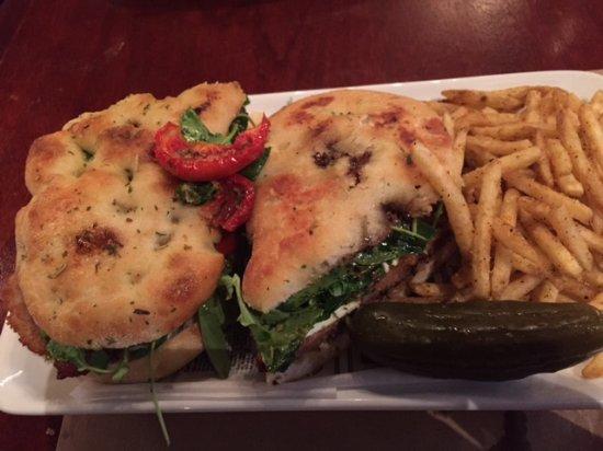 Lynbrook, NY: delish pork cutlet panini