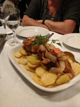 Restaurante Manjar da Helena: Baccalà con patate