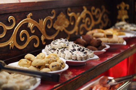 Double Happiness Beijing Courtyard Hotel: colazione a buffet