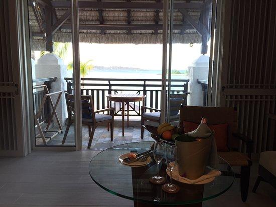 Shangri-La's Le Touessrok Resort & Spa, Mauritius: Vista do Quarto Deluxe Ocean View