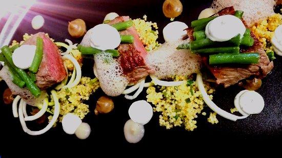 Salvia Restaurant: Lamb loin