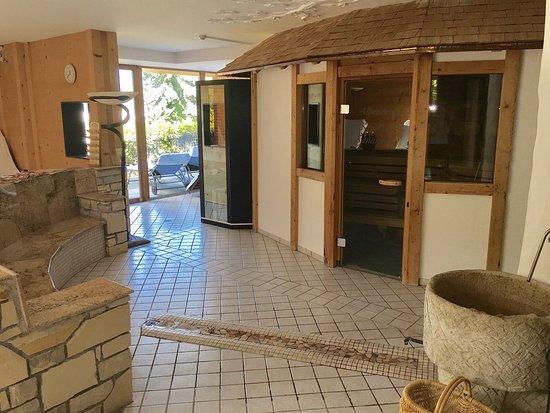 Aktiv & Spa Hotel Alpenrose: Saunabereich mit 3 Saunen & Dampfbad