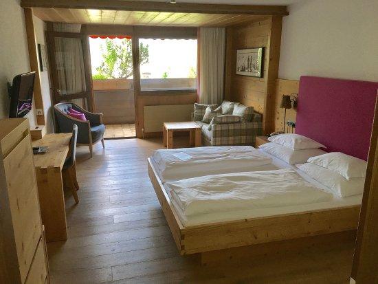 Aktiv & Spa Hotel Alpenrose: Doppelzimmer mit Balkon