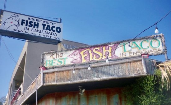 Photo of Mexican Restaurant Best Fish Tacos in Ensenada at 1650 Hillhurst Ave, Los Angeles, CA 90027, United States