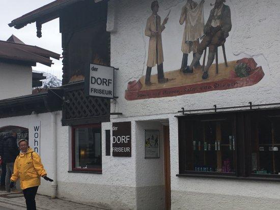 De Dorpskapper Frans Stengler, Oberstdorf, Duitsland