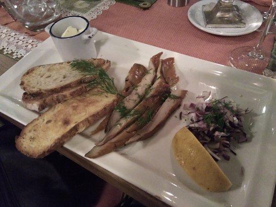 Restaurant Shtastliveca Old Town: Caballa ahumada